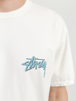 Stussy Stock C Pig Dyed T-shirt (natural)