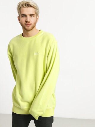 Stussy Stock Logo Crew Sweatshirt (lime)