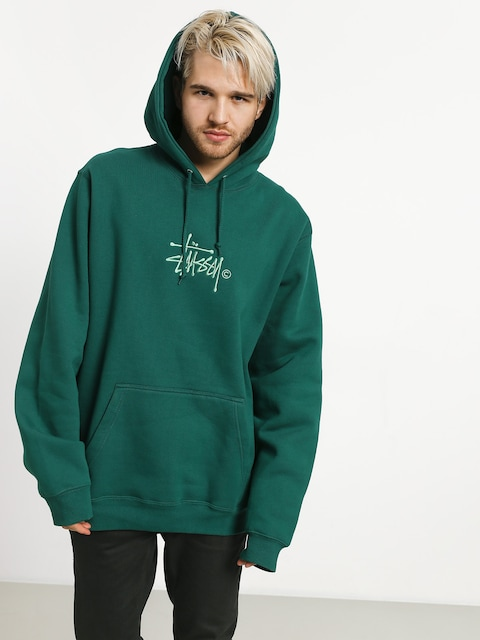 Stussy Basic Copyright App HD Hoodie (green)