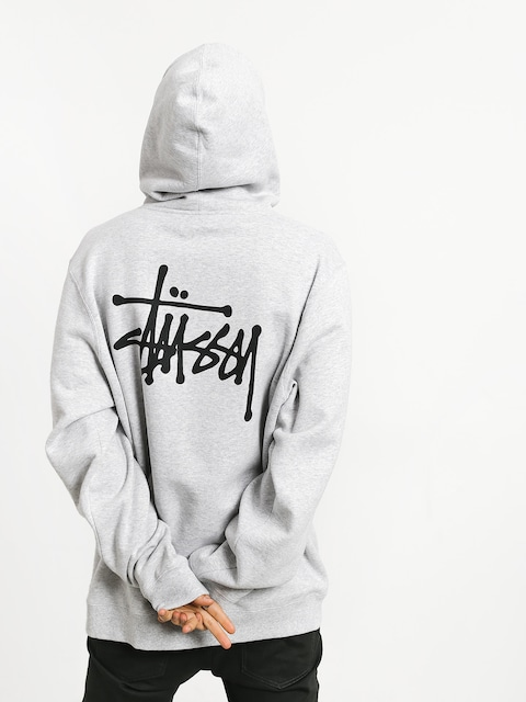 Stussy Basic HD Hoodie (ash heather)