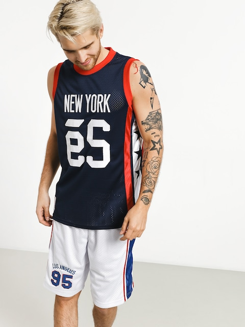 Es Ny Courtside Jersey T-shirt (navy)