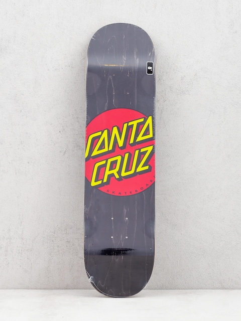 Santa Cruz Classic Dot Wide Deck (black/red/yellow)