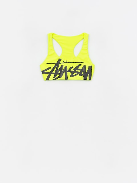 Stussy Myla Swim Top Swimsuit Wmn (neon yellow)