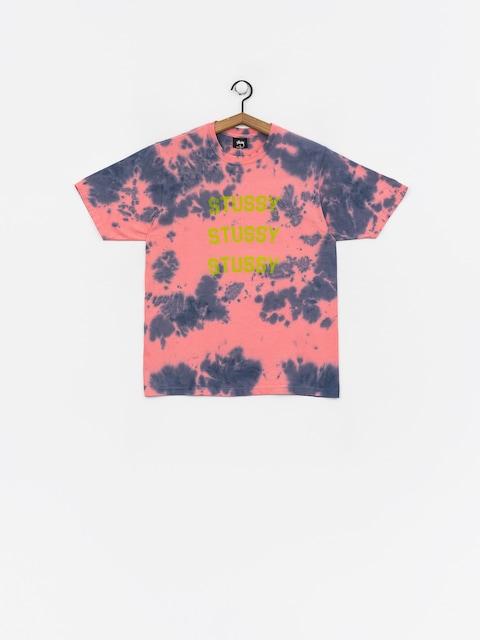 Stussy Triple Arch Td T-shirt Wmn (pink)