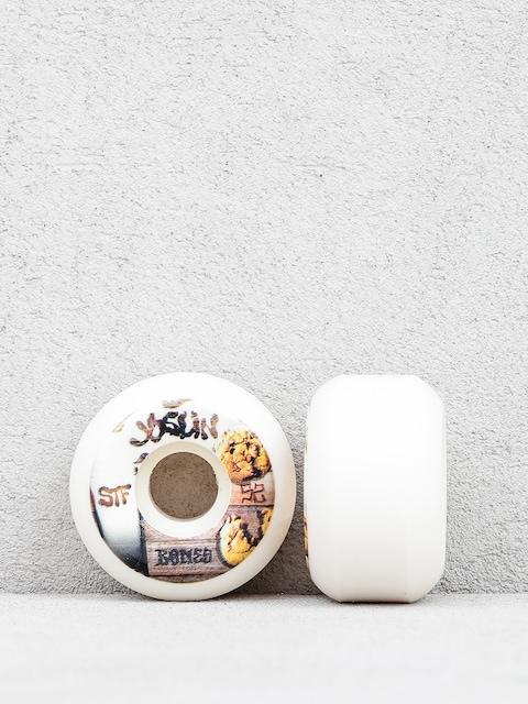 Bones Joslin Cookies Streettech Formula V5 Wheels (white/brown)