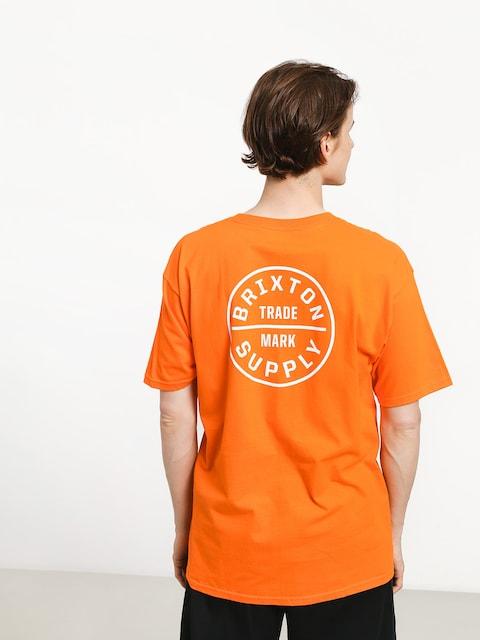 Brixton Oath Stt T-shirt (orange)
