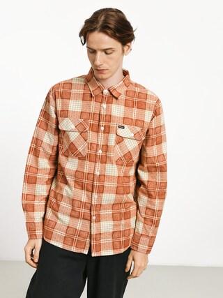 Brixton Bowery Lw Flannel Shirt (auburn)