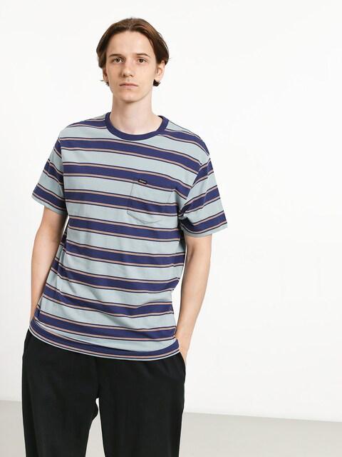 Brixton Hilt Pkt T-shirt (blue stone)
