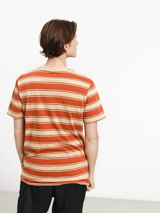 Brixton Hilt Pkt T-shirt (henna/parchment)