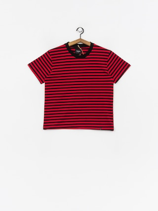 The Hive Stripe T-shirt Wmn (black/red)