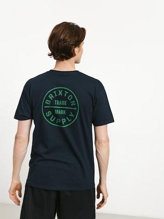 Brixton Oath Stt T-shirt (navy/grey)