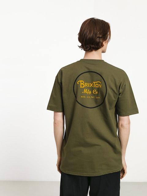 Brixton Wheeler II Stnd T-shirt (olive/black)