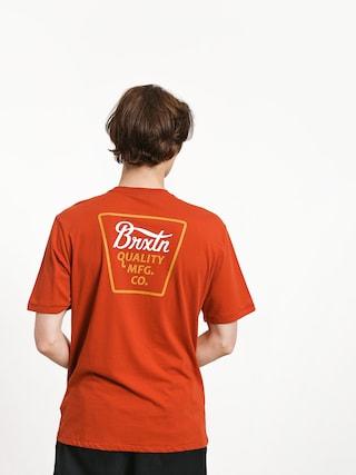 Brixton Potrero Prem T-shirt (henna)