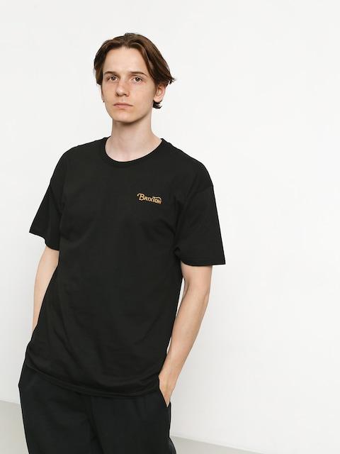 Brixton Grade III Stt T-shirt (black/gold)