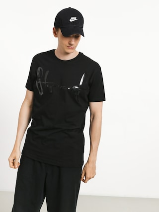 Stoprocent Base Tag T-shirt (black/black)