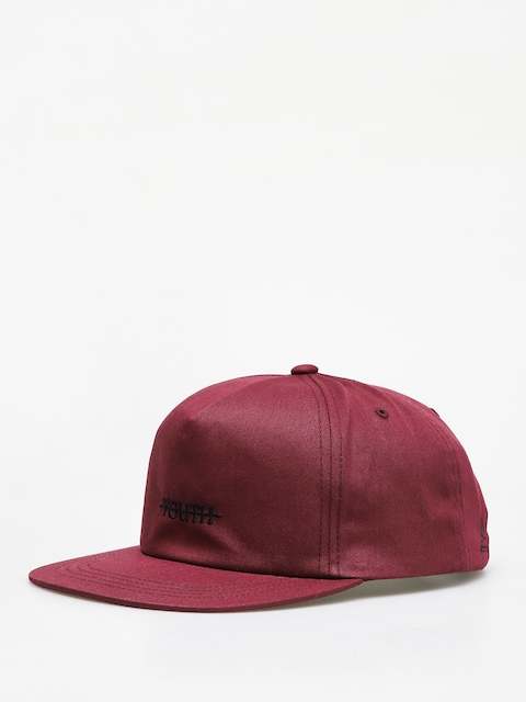 Youth Skateboards Devil Logo Floppy Cap (burgundy)