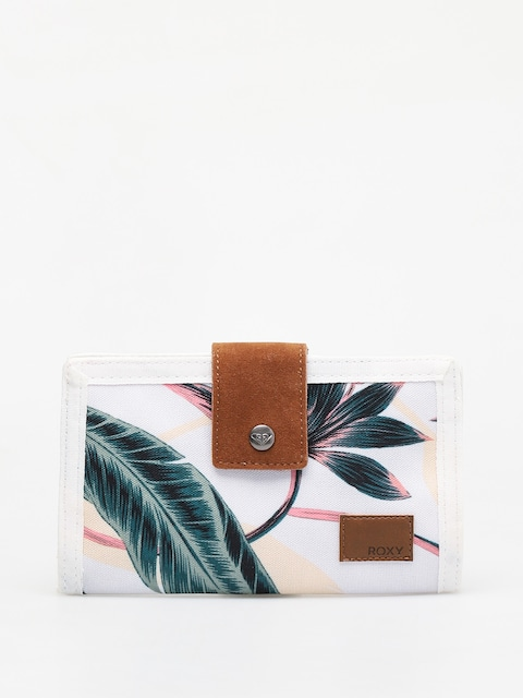 Roxy Work For Us Wallet Wmn (snow white axs lunar flower)