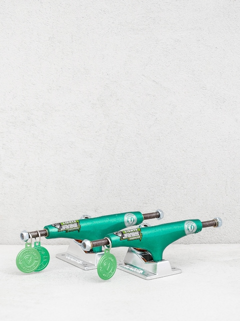 Thunder Duos Lights Trucks (green/polished)
