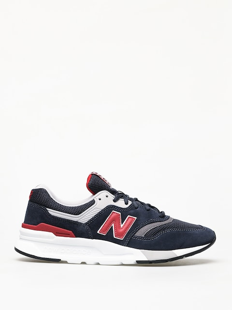 New Balance 997 Shoes (navy/red)