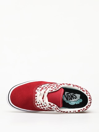 Vans ComfyCush Era Shoes (tear check/racing red/true white)