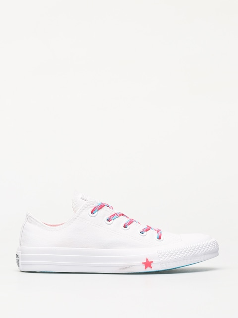 Converse Chuck Taylor All Star Ox Glow Up Chucks Wmn (optical white)