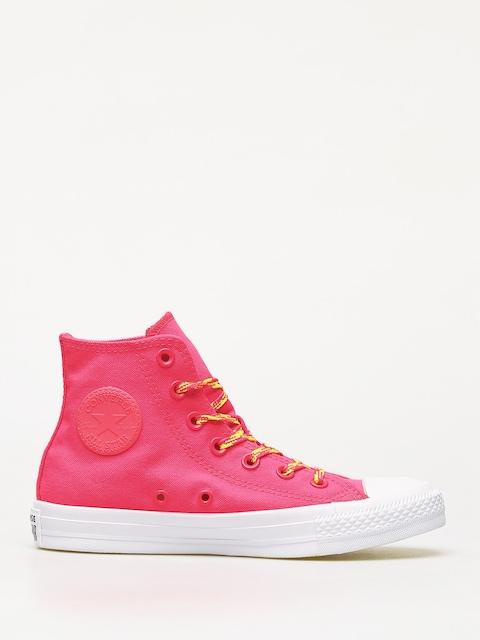 Converse Chuck Taylor All Star Hi Glow Up Chucks Wmn (dark pink)