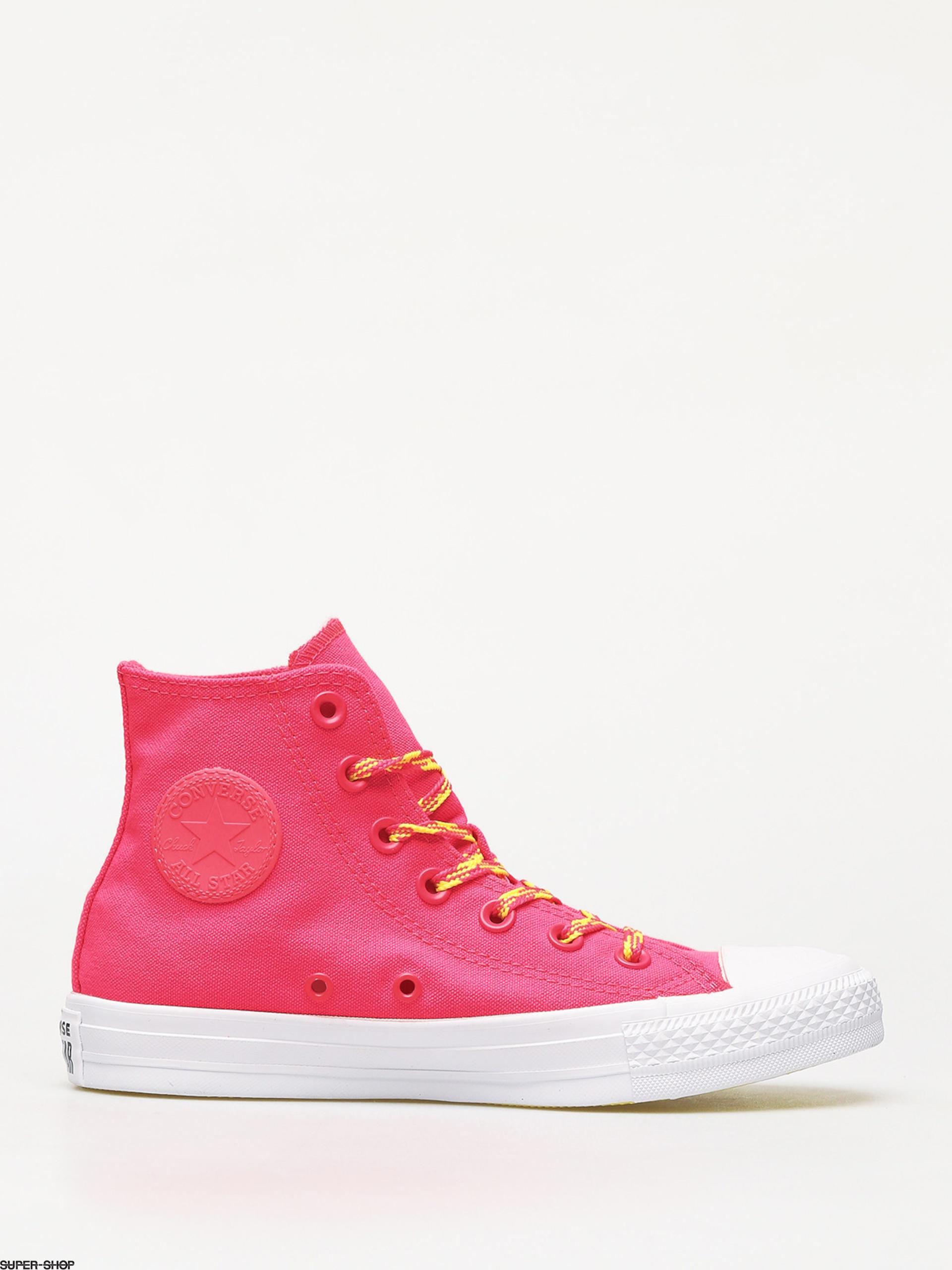 il migliore colore veloce il prezzo rimane stabile Converse Chuck Taylor All Star Hi Glow Up Chucks Wmn (dark pink)