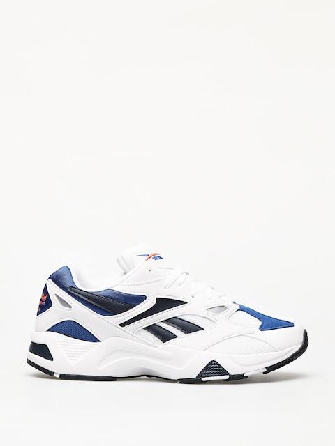 Reebok Aztrek 96 Shoes (white/royal/fiery or)