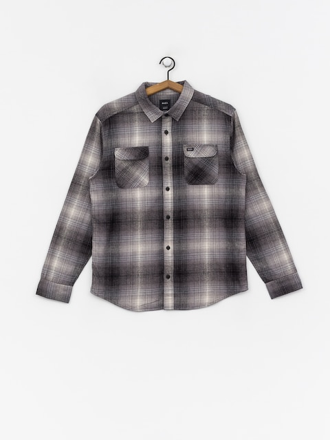 RVCA Muir Flannel Shirt (black)