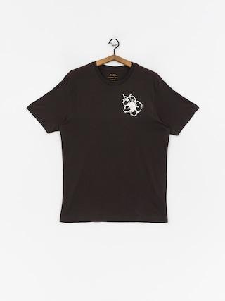 RVCA Mono Flower T-shirt (pirate black)