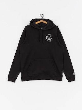 RVCA Pick Your Battles HD Hoodie (rvca black)