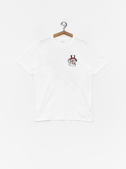 RVCA Pick Your Battles T-shirt (white)