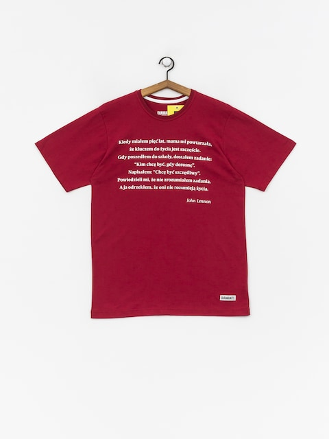 Diamante Wear Jonh T-shirt (burgundy)