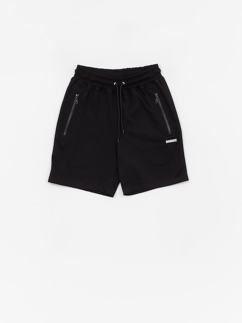 Diamante Wear Black Boxlogo Shorts (black)