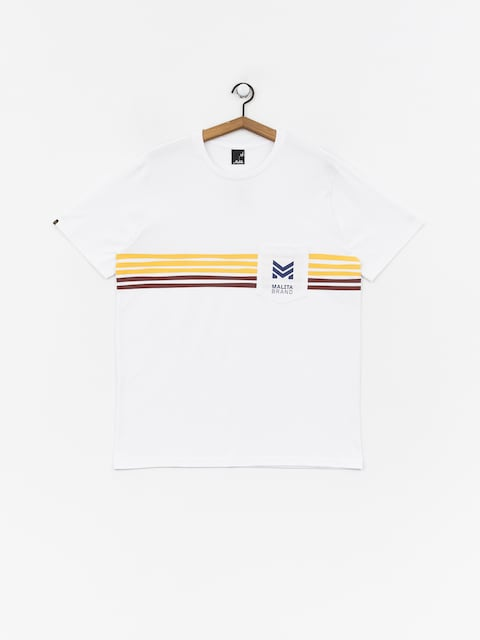 Malita Stripes T-shirt (white)