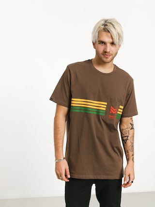 Malita Stripes T-shirt (brown)