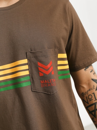 Malita Stripes T-shirt (brown)