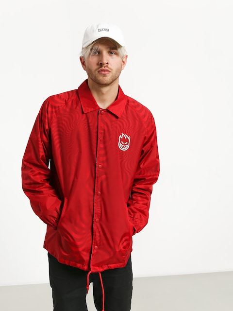 Spitfire Stj Bghd Swrl Spclty Jacket (red)