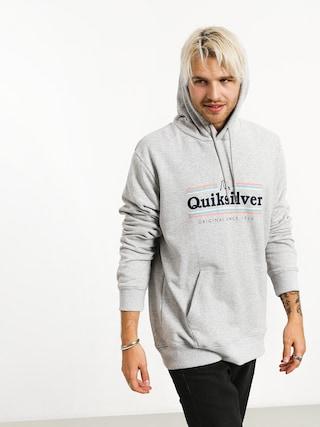 Quiksilver Get Buzzy Screen Fleece HD Hoodie (athletic heather)