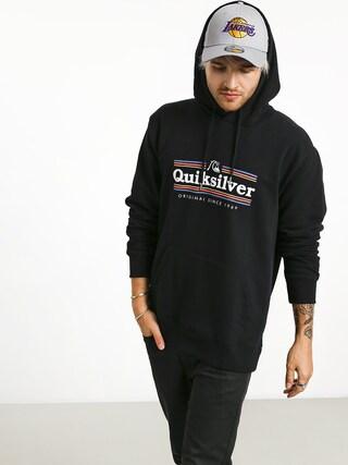 Quiksilver Get Buzzy Screen Fleece HD Hoodie (black)