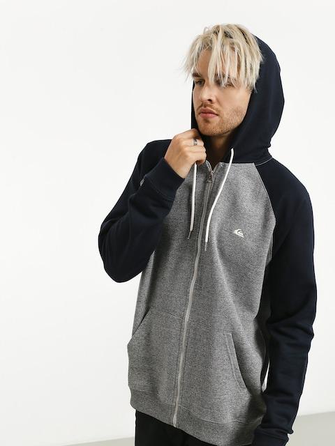 Quiksilver Everyday ZHD Hoodie (light grey heather/navy blazer)