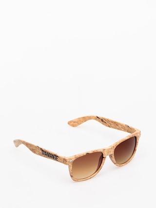 Diamante Wear Woody Sunglasses (beige)