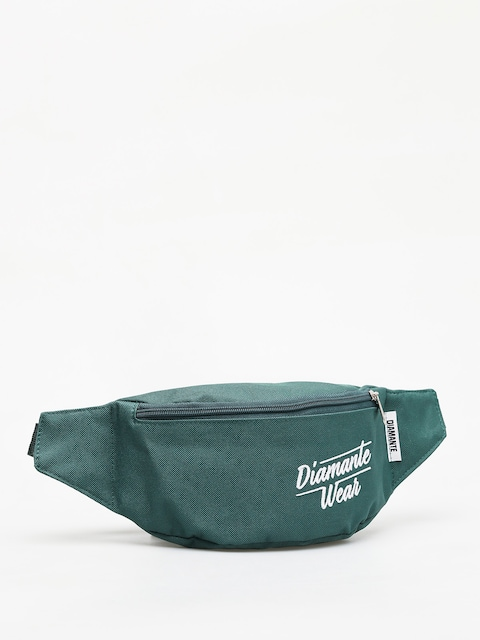 Diamante Wear Diamante Logo Bum bag (bottle green)