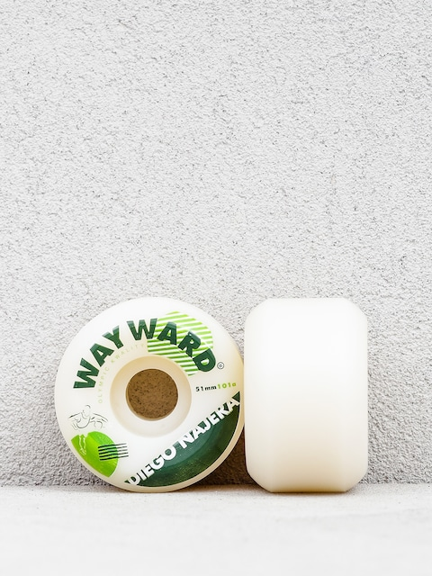 Wayward Diego Najera Wheels (white/green)