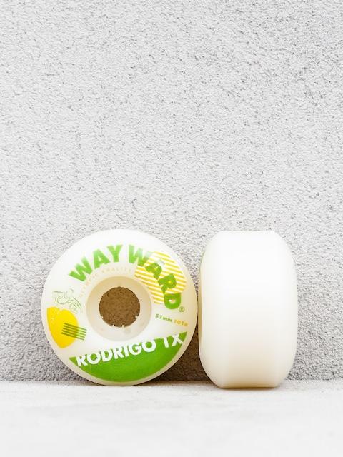 Wayward Rodrigo Wheels (white/green)