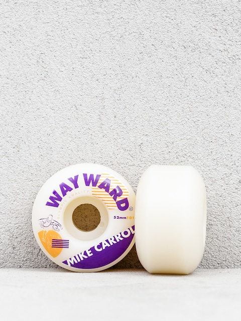 Wayward Mike Carrol Wheels (white/purple)