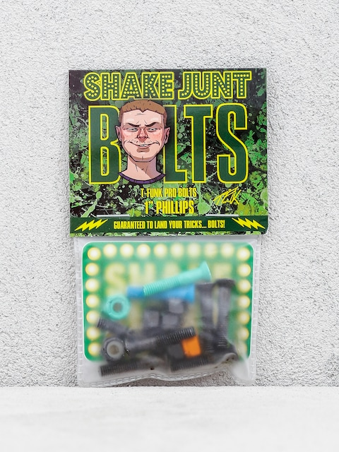 Shake Junt T Funk Bolts (black/green/blue)