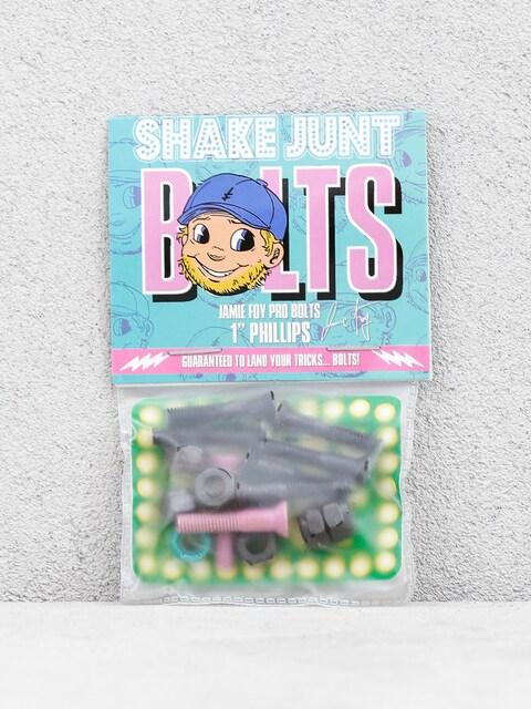 Shake Junt Jamie Foy Pro Bolts (black/pink/teal)