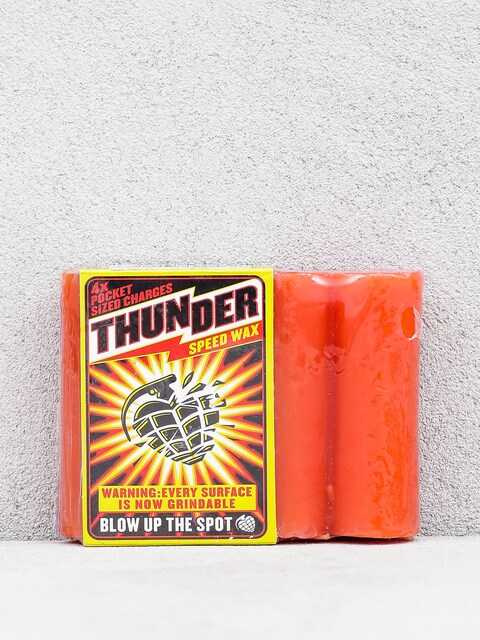 Thunder Speed Wax (red)