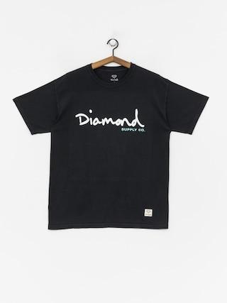 Diamond Supply Co. Og Script Overdye T-shirt (black)